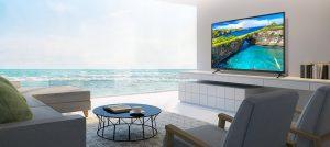 تلویزیون 4K و 55 اینچ ال جی مدل 55UK6100